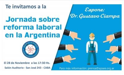 Reforma Laboral Dr. Gustavo Ciampa