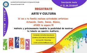 Registrate Arte y Cultura
