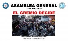 Asamblea General en Hipolito Yrigoyen 4265 - CABA