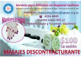 Servicio para Afiliados en la Regional Quilmes