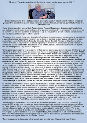 Entrevista a Carlos Minucci en Sonido Gremial
